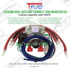 True UTV Lithium Dual Battery Connect & Monitor Kit True UTV-SBI-LCM